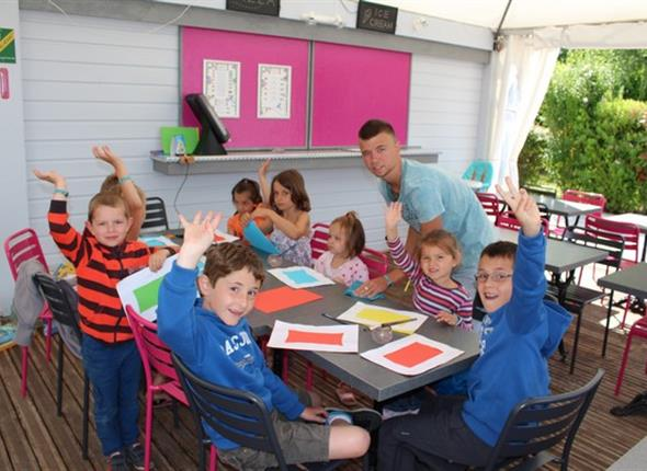 club enfants-camping de la sole Puybrun